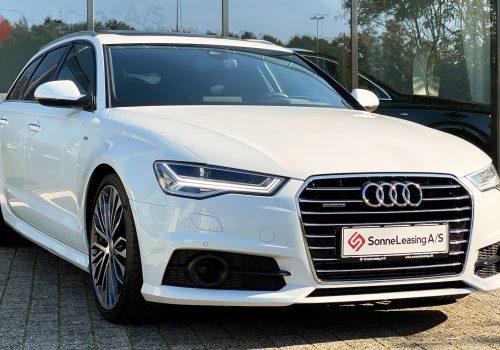 Audi A6 Avant hvid 3