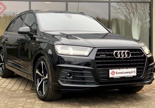 Audi Q7 sort 7 personer 3