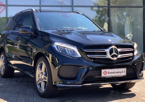 Mercedes GLE350 sort 7